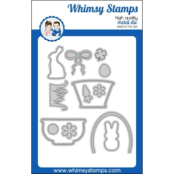 Whimsy Stamps BUILD A BASKET Dies WSD364