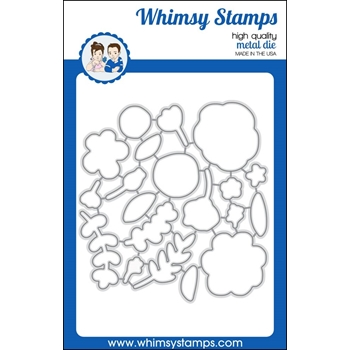 Whimsy Stamps BEAUCOUP BOUQUET Dies WSD360