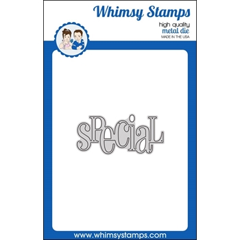 Whimsy Stamps SPECIAL WORD Die WSD307