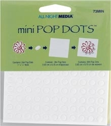 Plaid 264 MINI POP DOTS All Night Media Foam Adhesive 73MIN