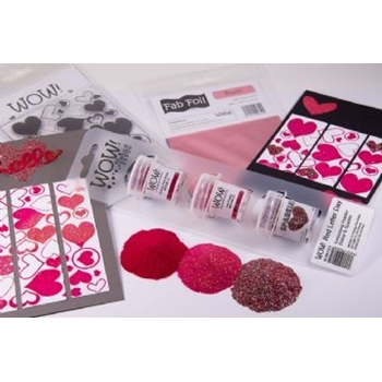 Wow Embossing Powder Trios RED LETTER DAY Set WOWKT010
