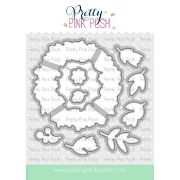 Pretty Pink Posh SPRING WREATH Dies