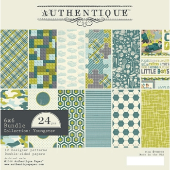 Authentique 6 x 6 YOUNGSTER Paper Pad ygn008