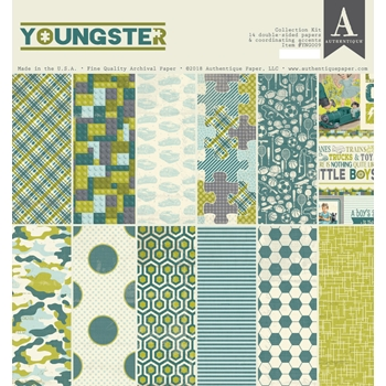 Authentique YOUNGSTER 12 x 12 Collection Kit ygn009