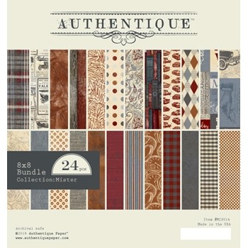 Authentique 8 x 8 MISTER Paper Pad mis014