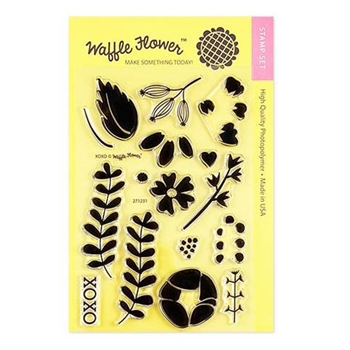 Waffle Flower XOXO Clear Stamps 271231