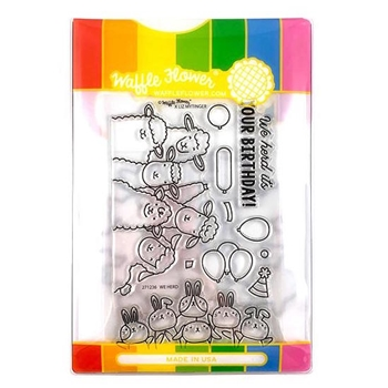 Waffle Flower WE HERD Clear Stamp and Die Combo WFC236