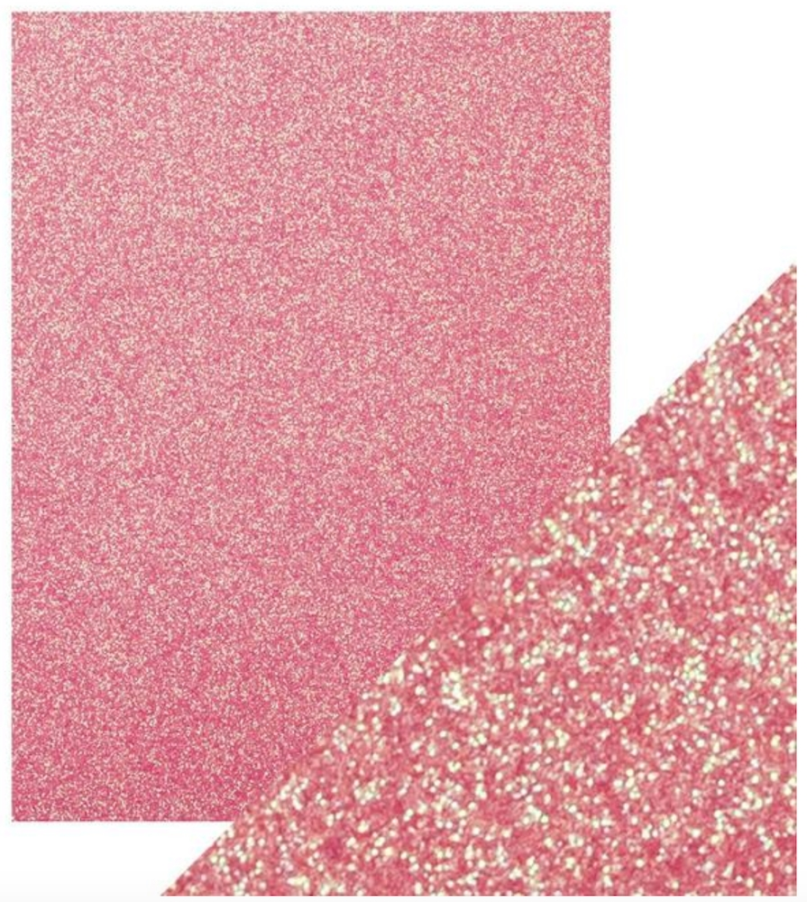 Tonic OPULENT ORCHID 8.5 x 11 Glitter Cardstock 9969e zoom image