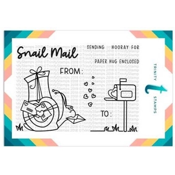 Trinity Stamps MR. SNAILMAN Clear Stamp Set 1547422791