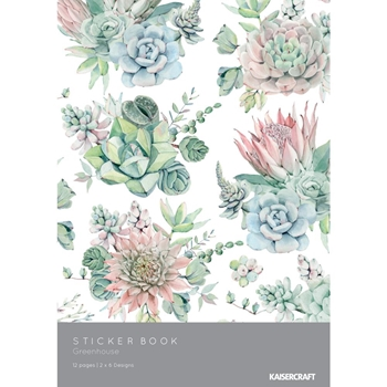 Kaisercraft GREENHOUSE Sticker Book SK804