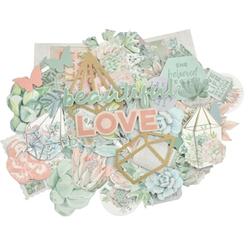 Kaisercraft GREENHOUSE Collectables Die Cut Shapes CT957