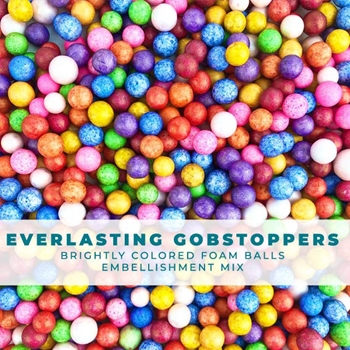 Trinity Stamps EVERLASTING GOBSTOPPER BRIGHT SHAKER Embellishment Bag 1551297730