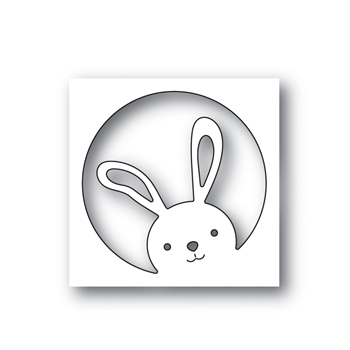 Simon Says Stamp PEEKING BUNNY Wafer Die s646 Fresh Bloom