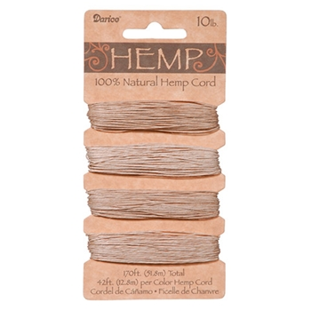 Darice NATURAL HEMP CORD 193690