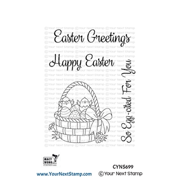 Your Next Stamp EASTER BASKET Clear cyns699