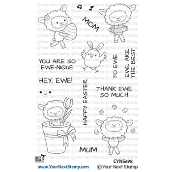 Your Next Stamp SO EWE-NIQUE Clear cyns698
