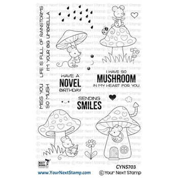 Your Next Stamp SO MUSH FUN Clear cyns703