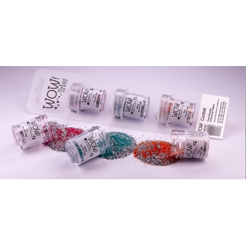 Wow Embossing Powder Trios CONFETTI Set WOWKT001
