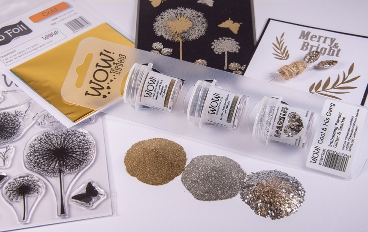 Wow Embossing Powder Trios COOL AND HIS GANG Set WOWKT006 zoom image