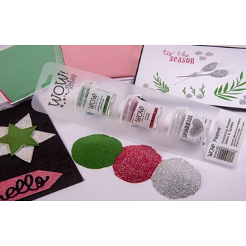 Wow Embossing Powder Trios FESTIVE Set WOWKT002