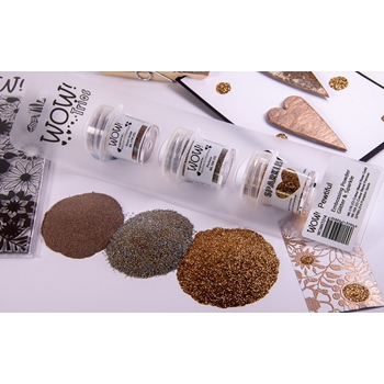 Wow Embossing Powder Trios PEWTIFUL Set WOWKT014