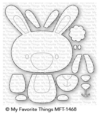 My Favorite Things COTTONTAIL CUTIE Die-Namics MFT1468 Preview Image