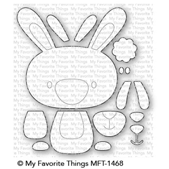 My Favorite Things COTTONTAIL CUTIE Die-Namics MFT1468