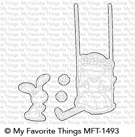 My Favorite Things SWEET FRIENDS Die-Namics MFT1493 Preview Image