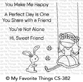 My Favorite Things SWEET FRIENDS Clear Stamps CS382
