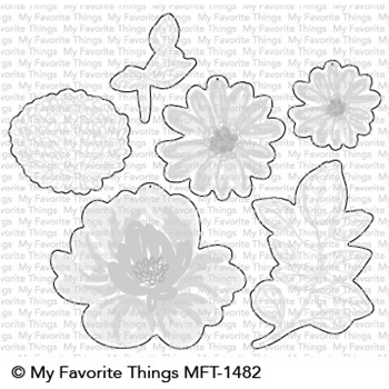My Favorite Things PAINTED PETALS Die-Namics MFT1482