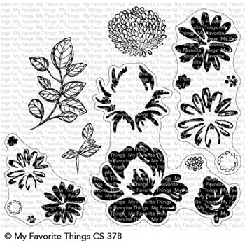 My Favorite Things PAINTED PETALS Clear Stamps CS378