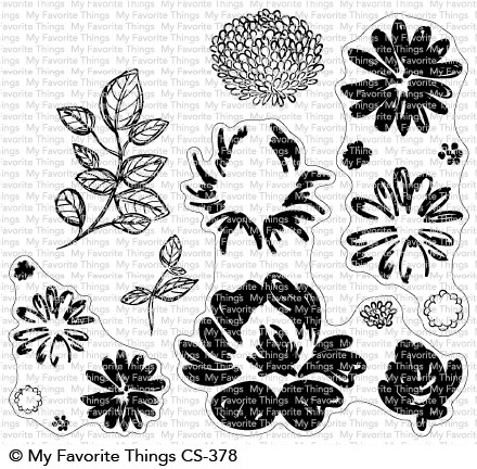 My Favorite Things PAINTED PETALS Clear Stamps CS378 zoom image