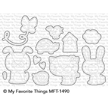 My Favorite Things CUTE CRITTERS Die-Namics MFT1490