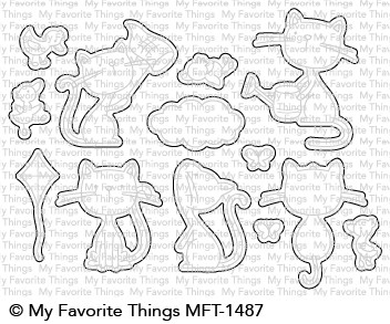 My Favorite Things PURRFECT FRIENDS Die-Namics MFT1487 Preview Image