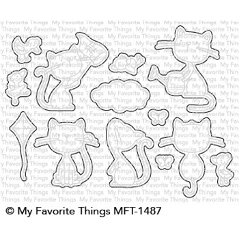 My Favorite Things PURRFECT FRIENDS Die-Namics MFT1487