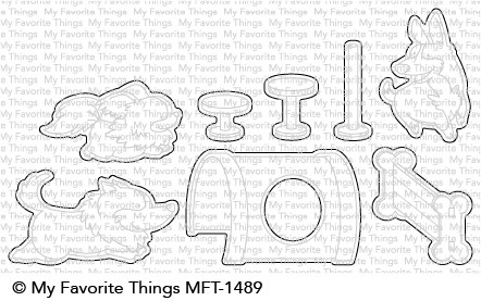 My Favorite Things BEST IN SHOW Die-Namics MFT1489 Preview Image