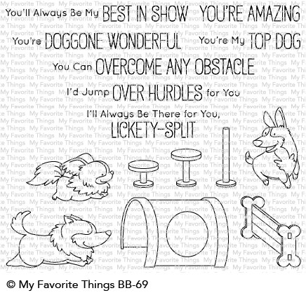 My Favorite Things BEST IN SHOW Clear Stamps BB69 zoom image
