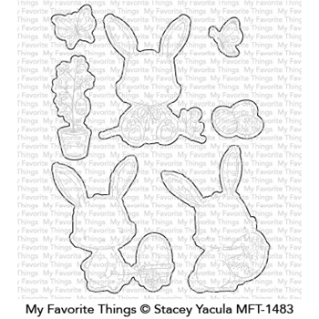 My Favorite Things EASTER BUNNIES Die-Namics MFT1483