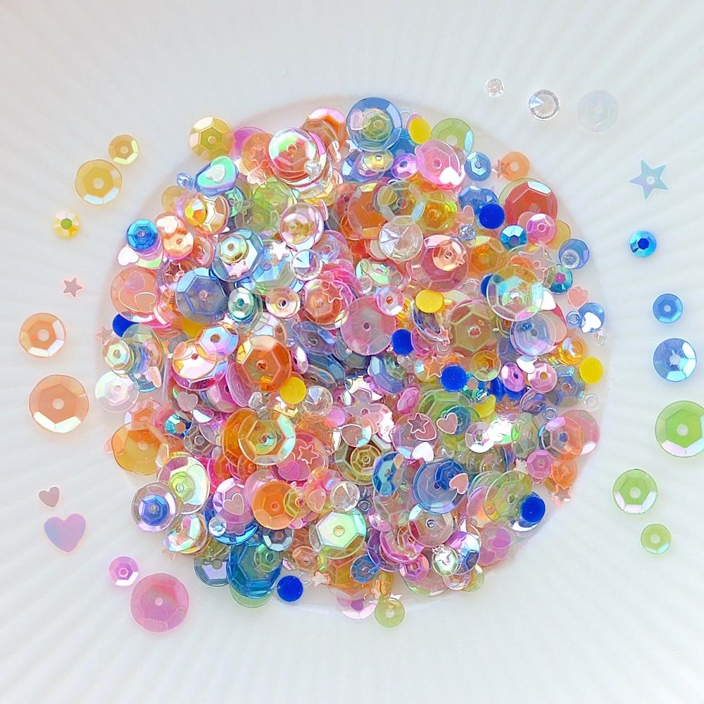Little Things From Lucy's Cards IRIDESCENT FUN Sparkly Shaker Mix LB226 zoom image