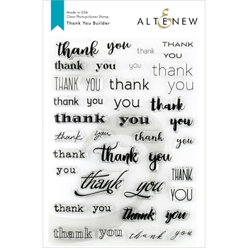 Altenew THANK YOU BUILDER Clear Stamps ALT3157