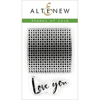 Altenew SHADES OF LOVE Clear Stamps ALT3156