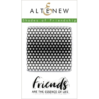 Altenew SHADES OF FRIENDSHIP Clear Stamps ALT3155