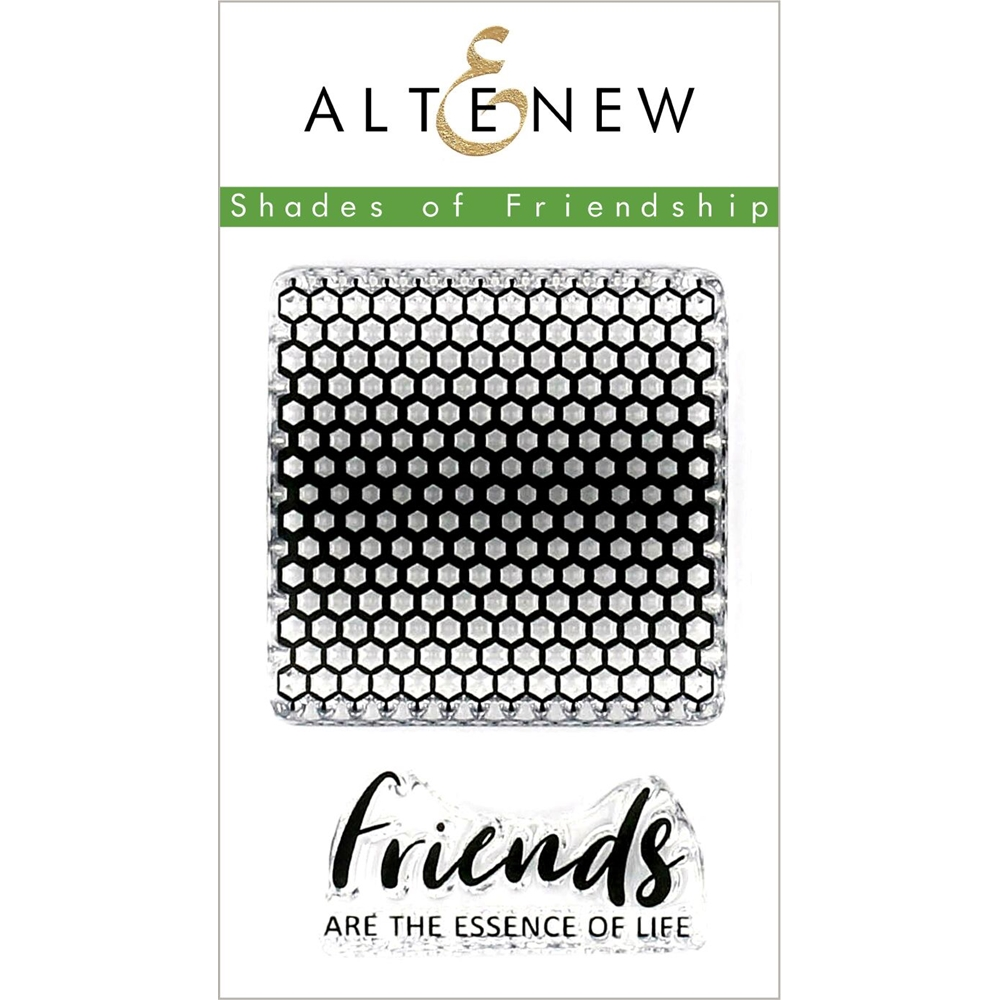 Altenew SHADES OF FRIENDSHIP Clear Stamps ALT3155 zoom image