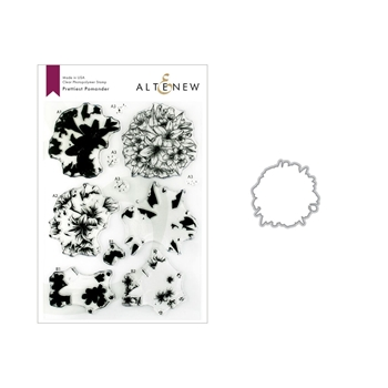 Altenew PRETTIEST POMANDER Clear Stamp and Die Bundle ALT3149