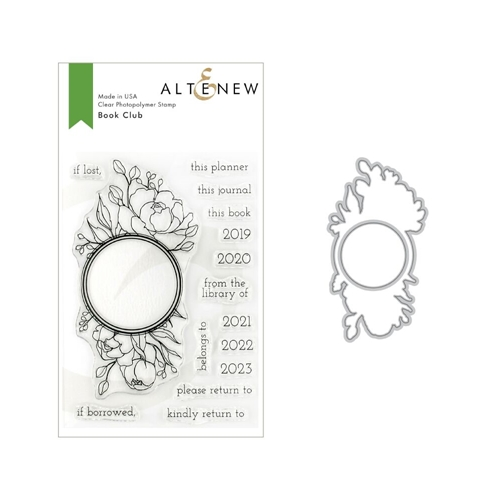 Altenew BOOK CLUB Stamp and Die Bundle ALT3145 Preview Image