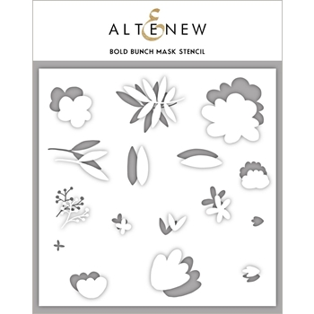 Altenew BOLD BUNCH Mask Stencil ALT3140