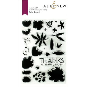Altenew BOLD BUNCH Clear Stamps ALT3138