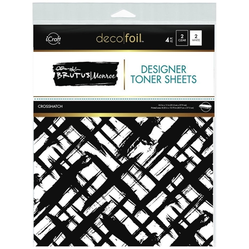 Therm O Web Brutus Monroe CROSSHATCH Deco Foil Toner Sheets 19025 Preview Image