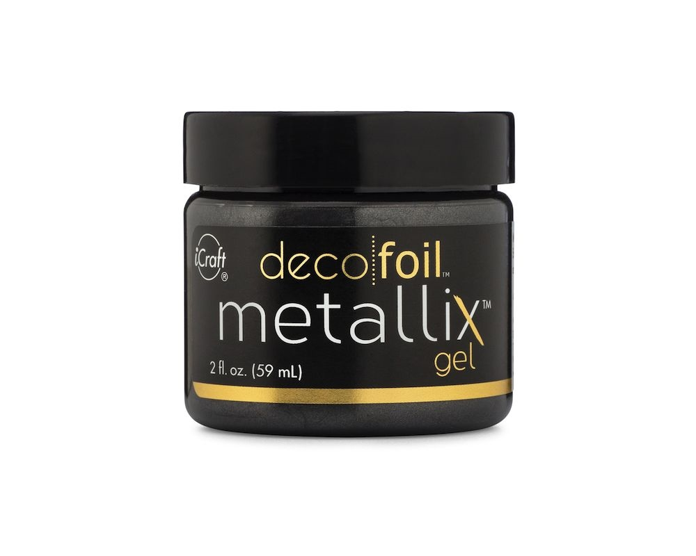 Therm O Web BLACK ICE METALLIX Deco Foil Gel 5546 zoom image