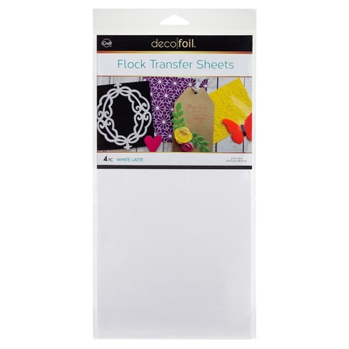 Therm O Web WHITE LATTE Flock Transfer Sheets Deco Foil 5540 Preview Image
